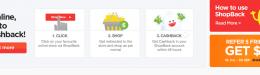 How do you like getting cash rebates when shopping online?