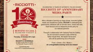 Benvenuti Casa: Ricciotti Riverwalk to make grand re-opening