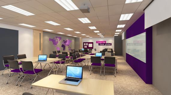 The Owens Classroom Named After University Of Manchester Founder John Is Well Equipped With Cutting Edge Facilities Designed To Enhance Interaction