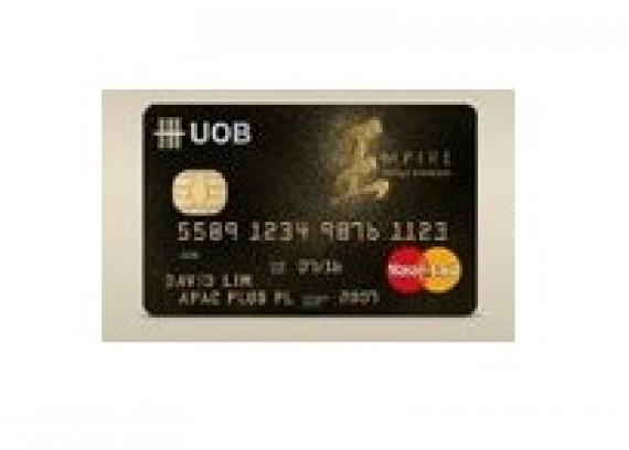 13 most exclusive credit cards in singapore singapore business review uob empire world business mastercard reheart Image collections