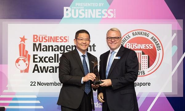 Mr  Henry Chu of BreadTalk Group clinches 'Executive of the Year