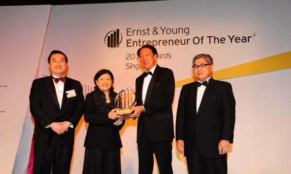 Hyflux CEO Olivia Lum named Ernst & Young Entrepreneur Of