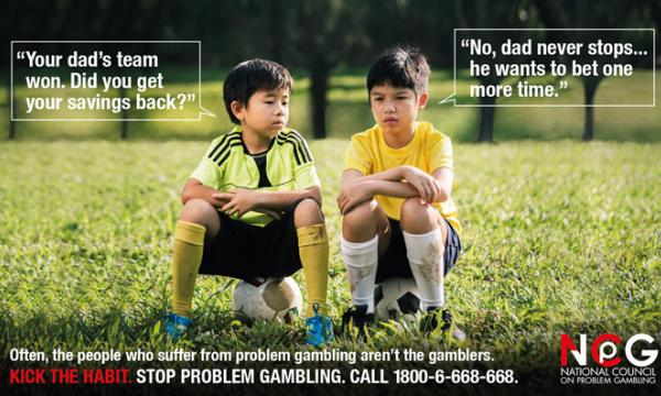 Problem gambling campaign in singapore slot machines sales dallas