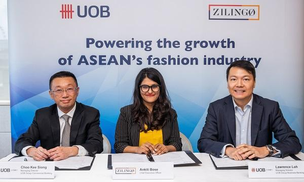 Image result for UOB signs MoU with online fashion marketplace Zilingo