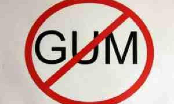 Chewing gum at school essay