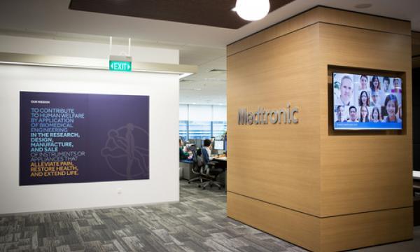 check out medtronics 5235 sq m regional headquarters singapore business review