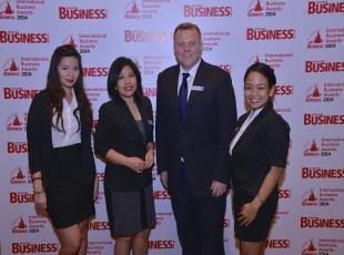 SBR International Business Awards 2014