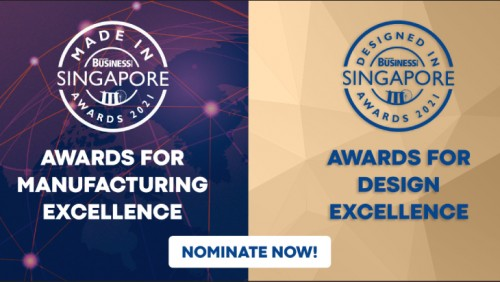 SBR's Made in Singapore & Designed in Singapore Awards are now accepting nominations