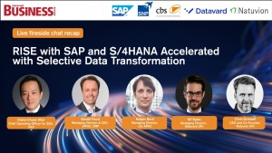 RISE with SAP: How SDT helps businesses transform data with maximum flexibility