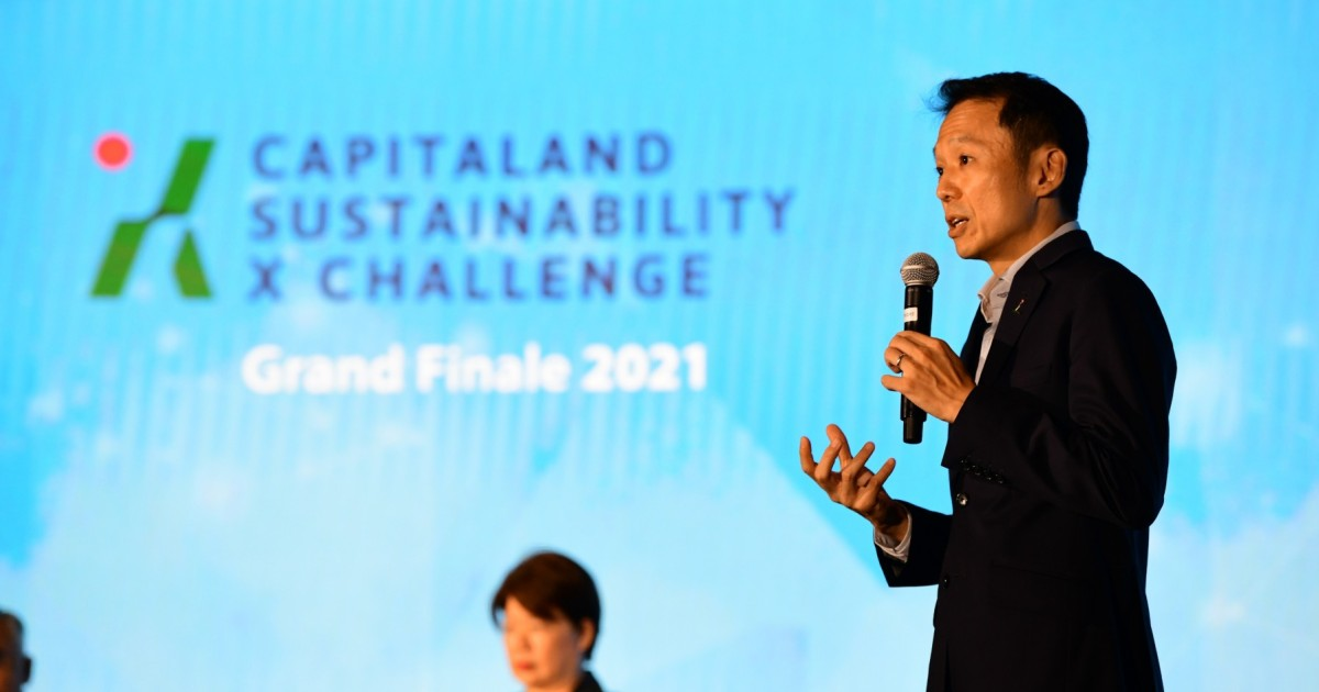 CapitaLand reveals $50m innovation fund to ramp up sustainability drive
